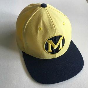 Michigan wolverines college vault hat